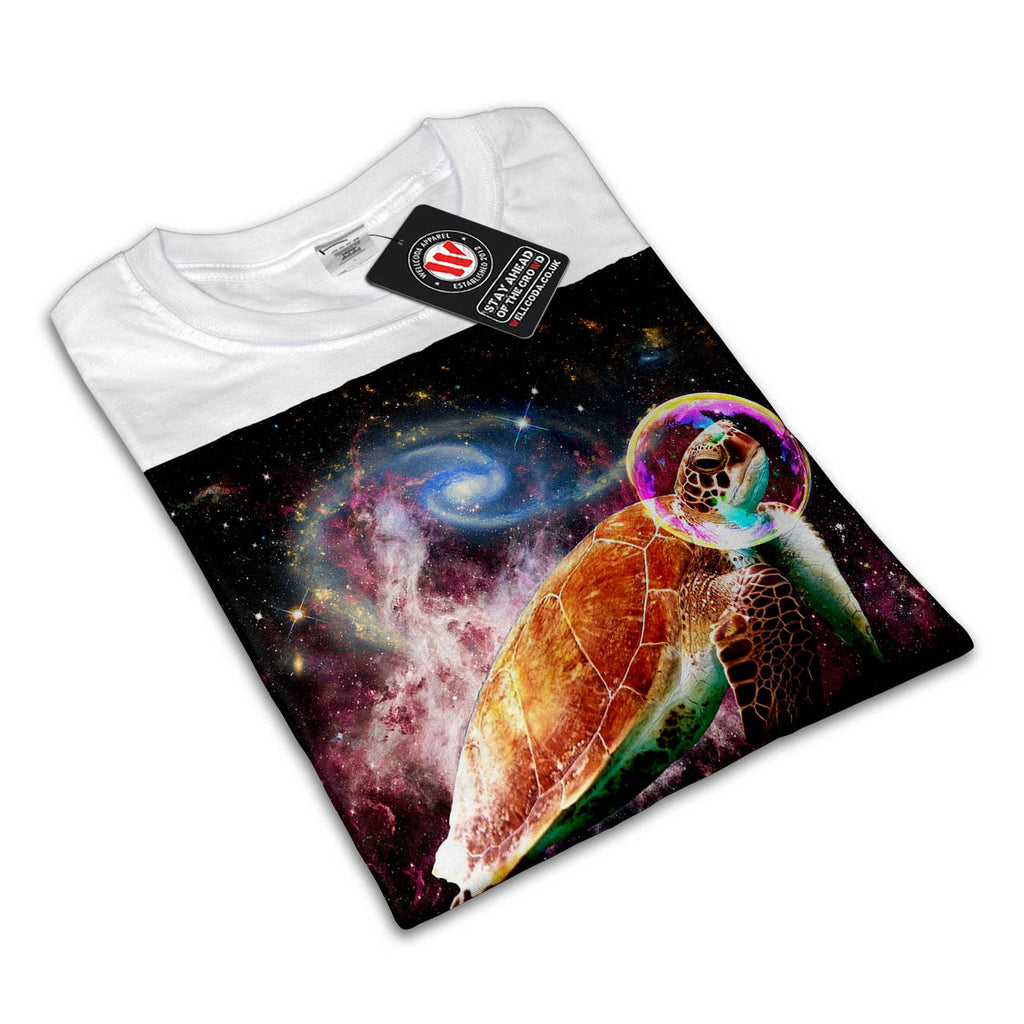 bbb964505 Outer Space Turtle Mens T-Shirt