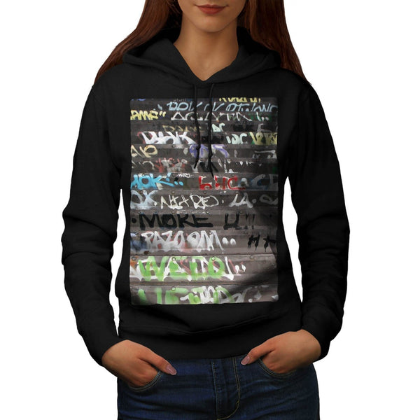 Apparel Graffiti Life Womens Hoodie