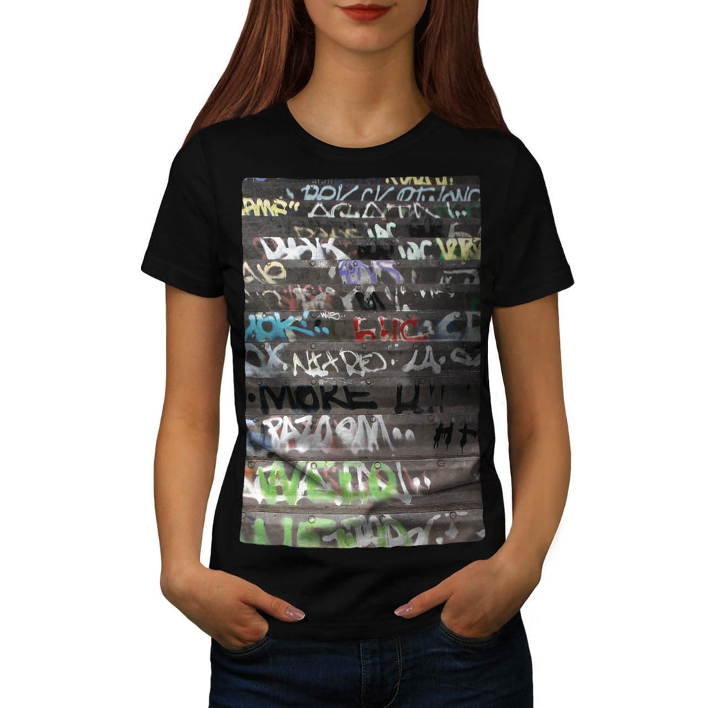 Apparel Graffiti Life Womens T-Shirt
