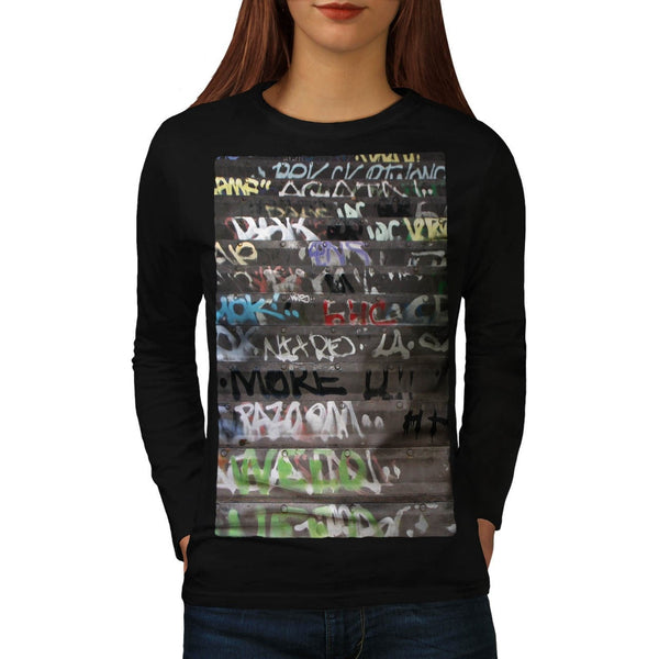 Apparel Graffiti Life Womens Long Sleeve T-Shirt