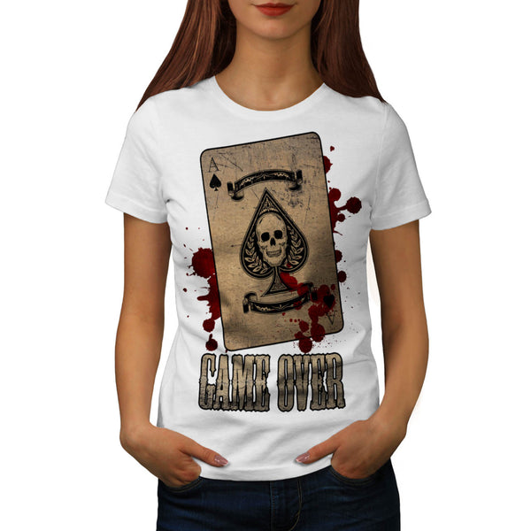 You Lose Skeleton Womens T-Shirt