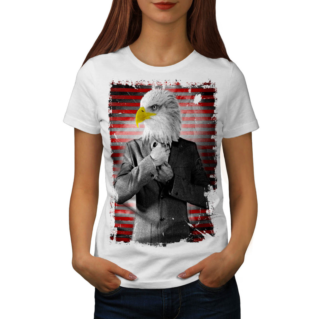 Eagle Business Man Womens T-Shirt