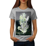 Nature Life Flower Womens T-Shirt