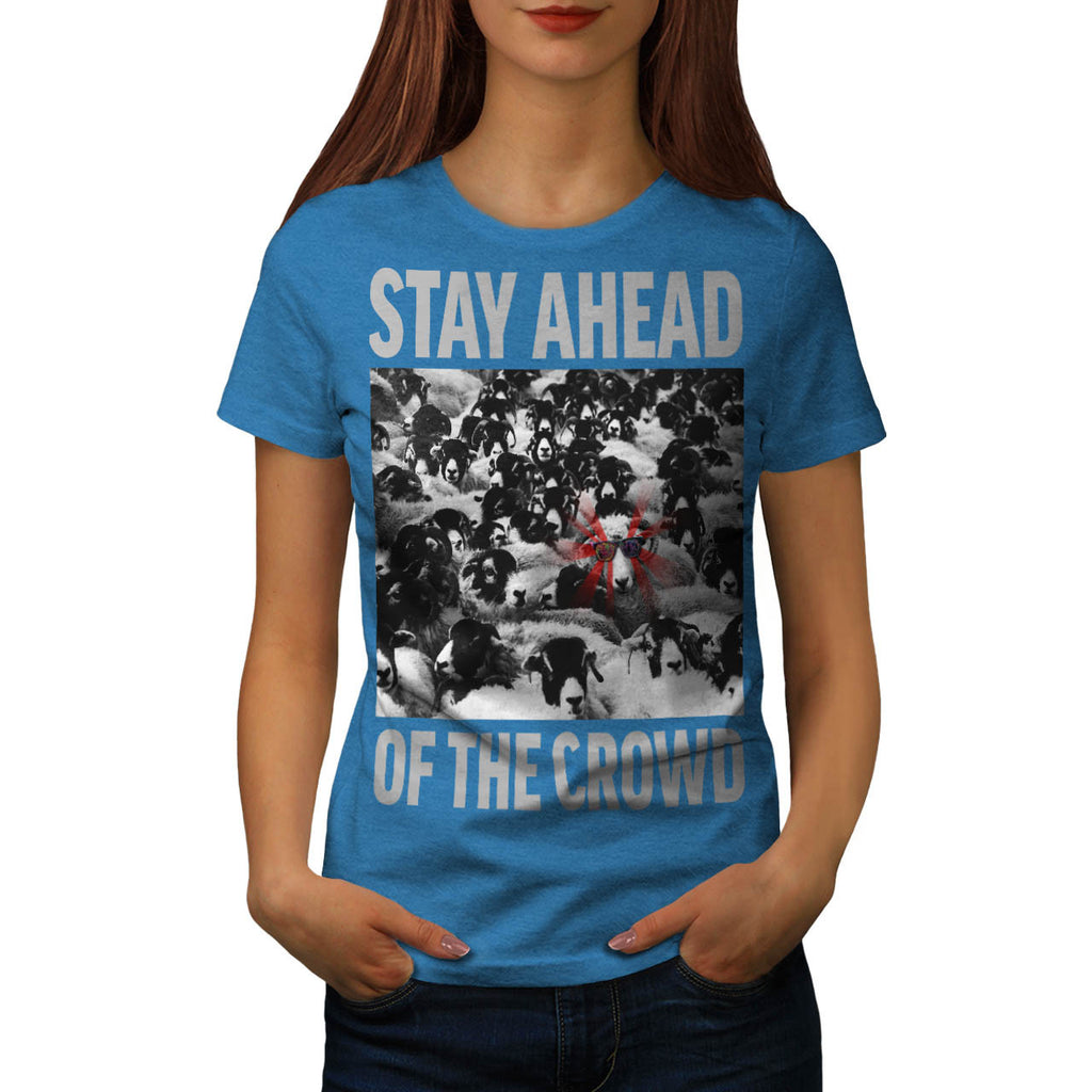 Be Different Sheep Womens T-Shirt