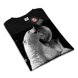 Polar Bear Disco Womens T-Shirt