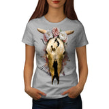 Skull Beast War Art Womens T-Shirt