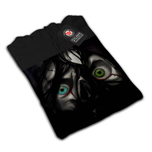 Scary Zombie Face Mens Hoodie