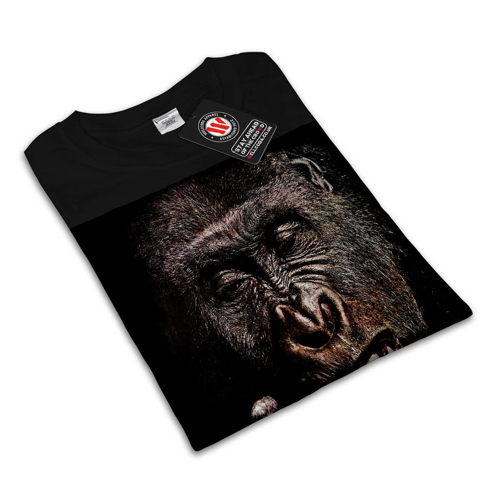 Blaze It Gorilla Womens T-Shirt