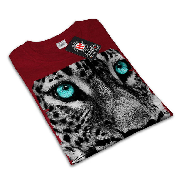 Cheetah Face Look Womens T-Shirt