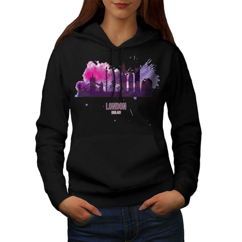 London Capital City Womens Hoodie