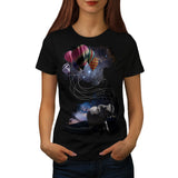 Dreaming Elephant Womens T-Shirt