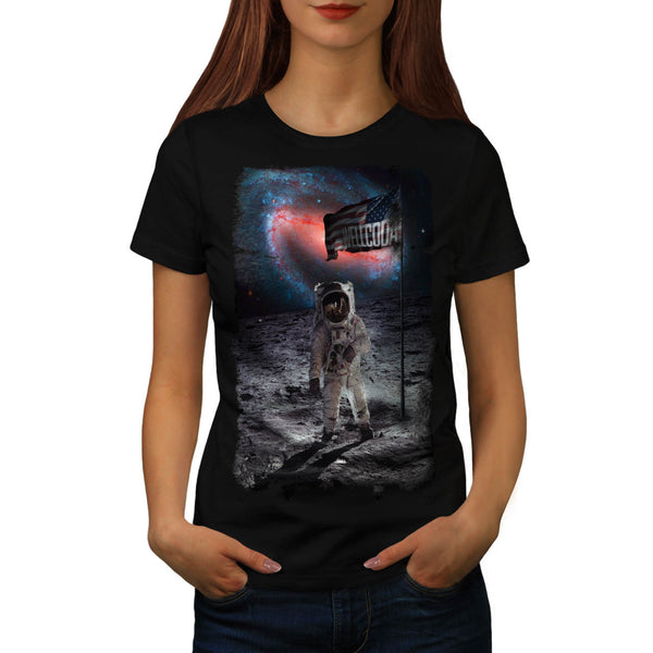 Open Space Astronaut Womens T-Shirt