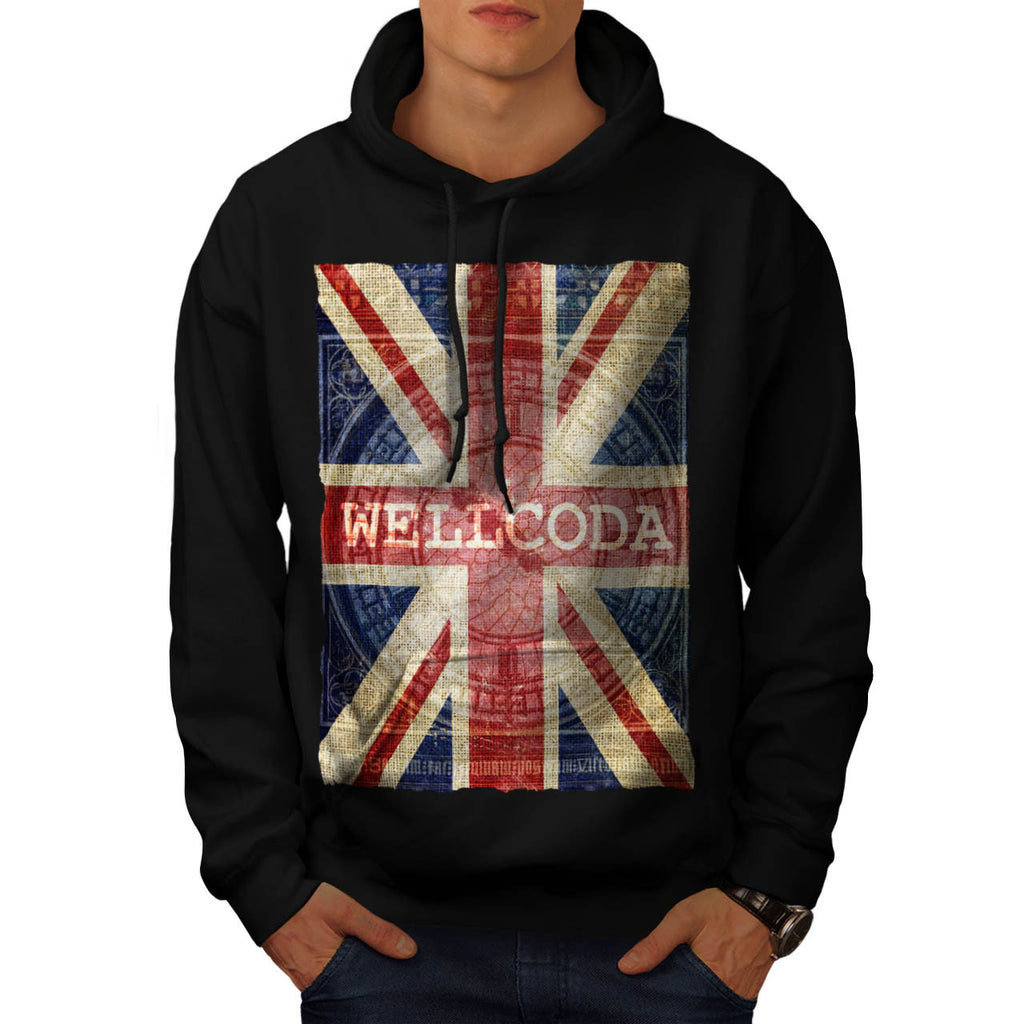 Native Symbol Flag Mens Hoodie