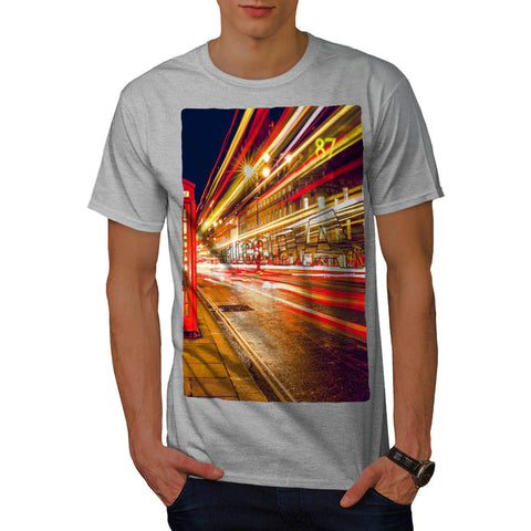 City Light Downtown Mens T-Shirt