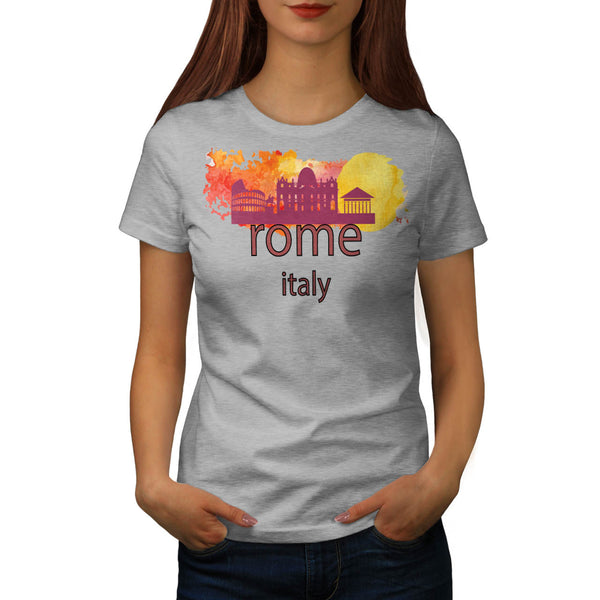 Rome Italy Capital Womens T-Shirt