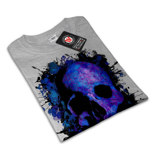 Skull Sugar Glow Art Womens T-Shirt