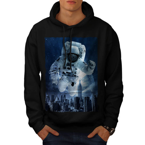Be Different Space Mens Hoodie