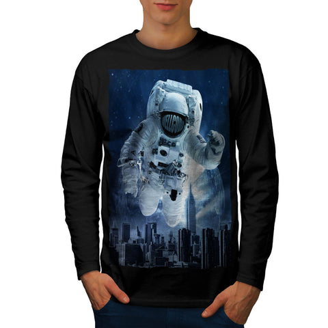 Be Different Space Mens Long Sleeve T-Shirt