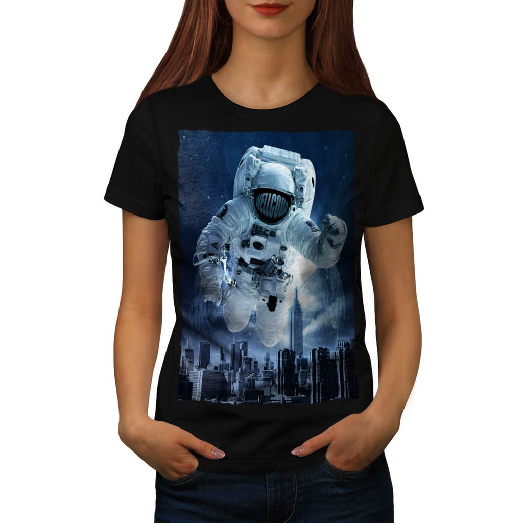 Be Different Space Womens T-Shirt
