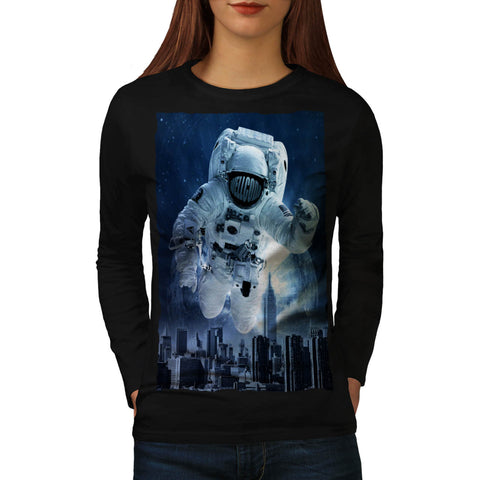 Be Different Space Womens Long Sleeve T-Shirt