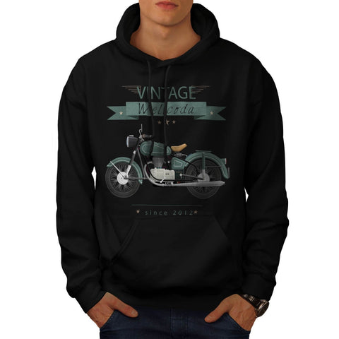 Apparel Motor Bike Mens Hoodie