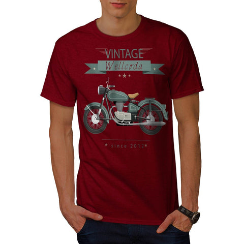 Apparel Motor Bike Mens T-Shirt