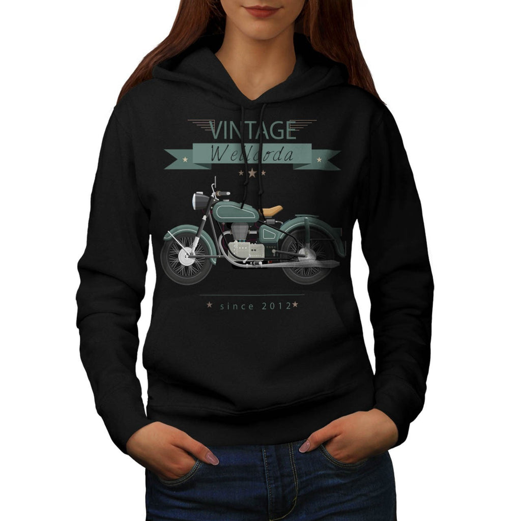 Apparel Motor Bike Womens Hoodie