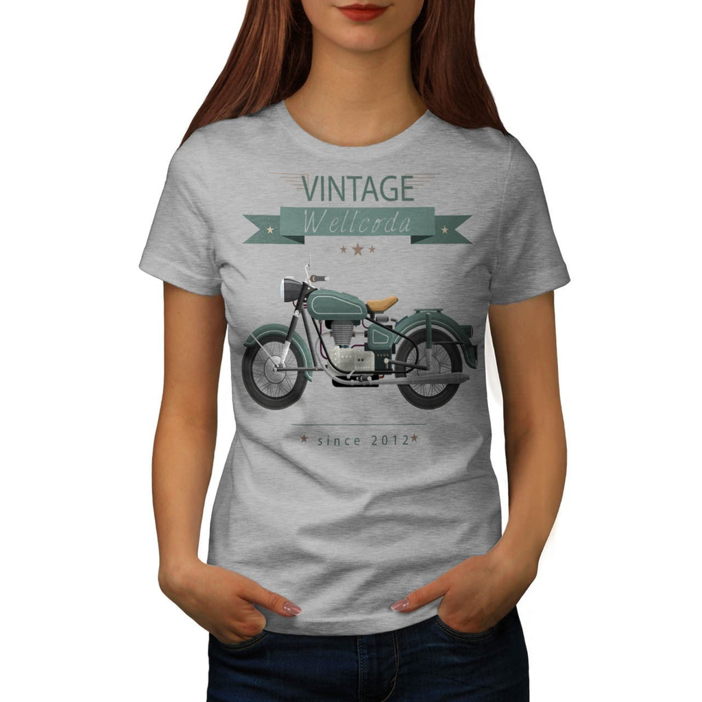 Apparel Motor Bike Womens T-Shirt