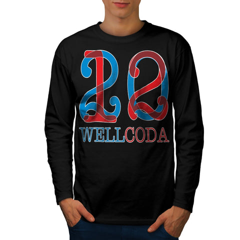 Apparel 2012 Crazy Mens Long Sleeve T-Shirt