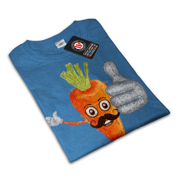 Vegetable Man Guy Womens T-Shirt