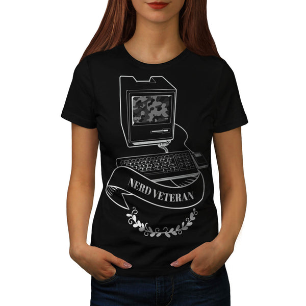Nerd Veteran PC Life Womens T-Shirt