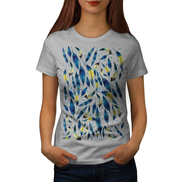 Feather Mania Art Womens T-Shirt