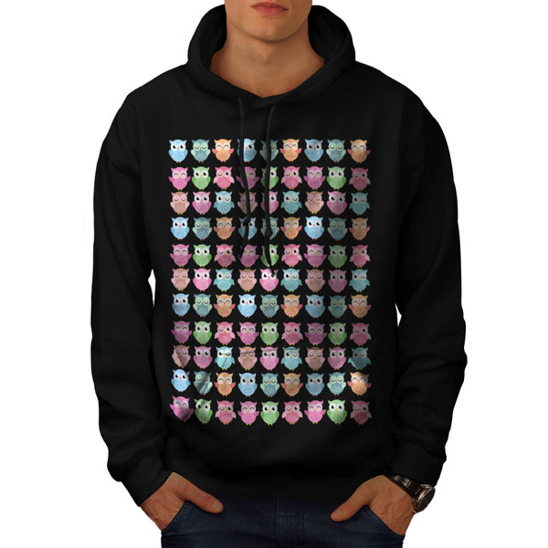 Cute Monster Party Mens Hoodie