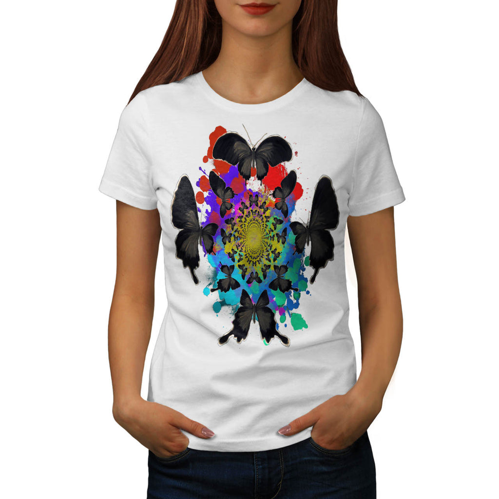 Butterfly Nature Womens T-Shirt