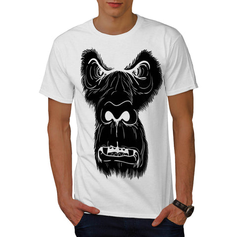 Angry Monkey Face Mens T-Shirt