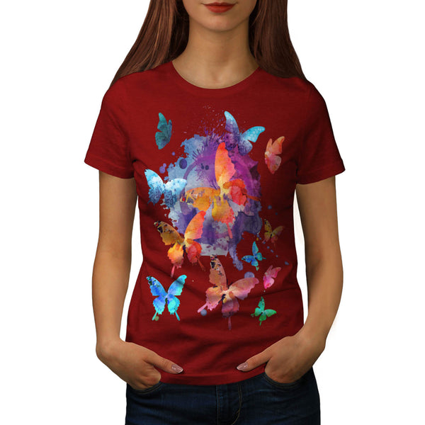 Beauty Butterfly Womens T-Shirt