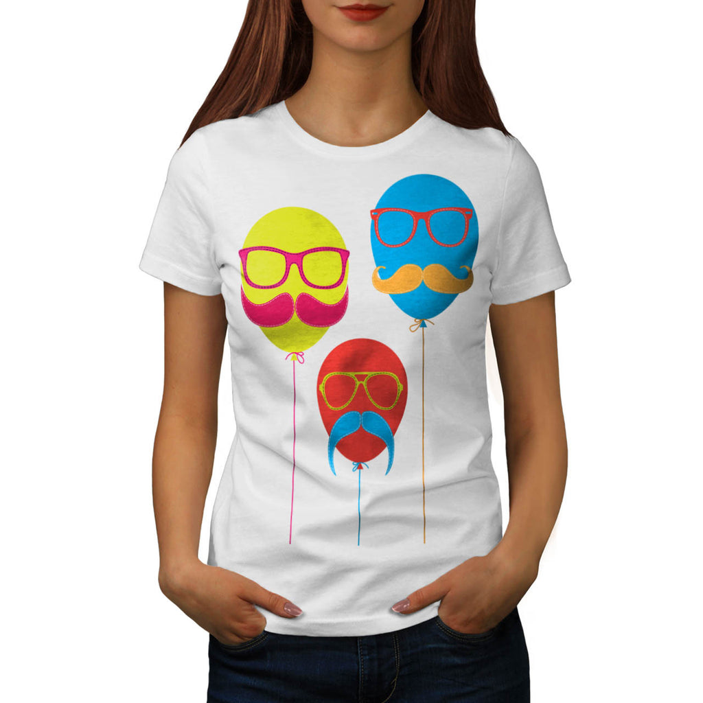 Baloon Head Man Womens T-Shirt