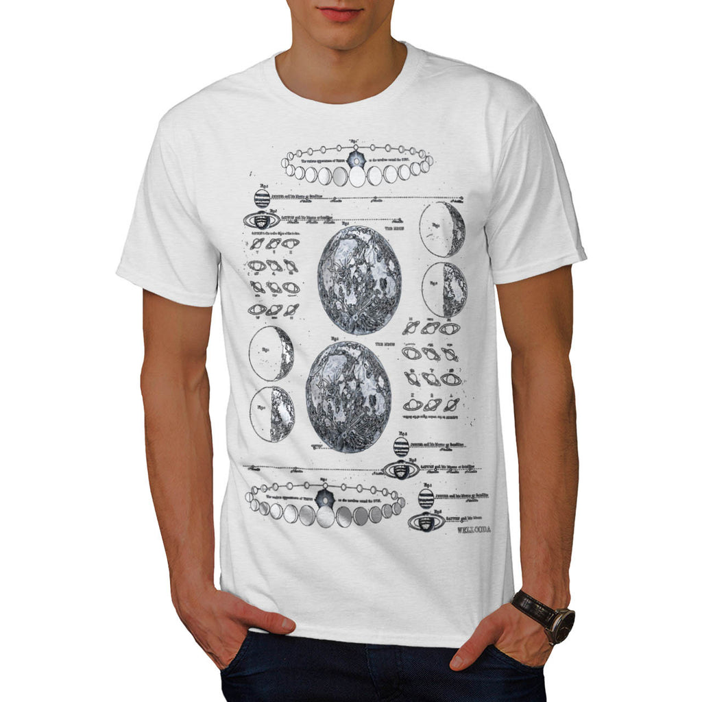 Stages of The Moon Mens T-Shirt