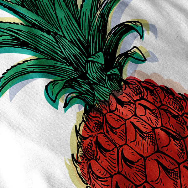 Tropical Pineapple Womens T-Shirt