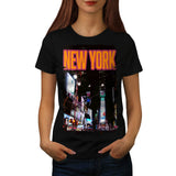 New York Night Life Womens T-Shirt
