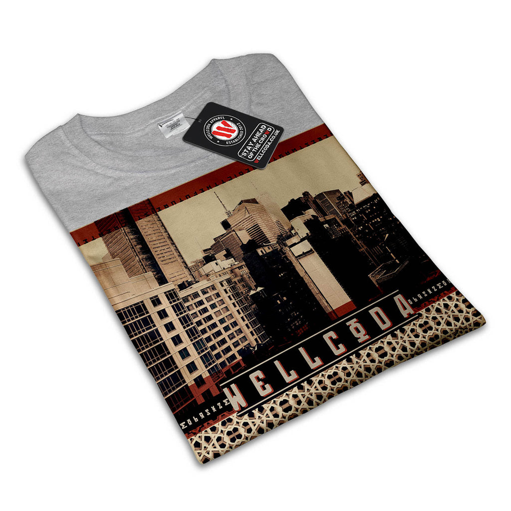 Urban Tiger City Life Womens T-Shirt