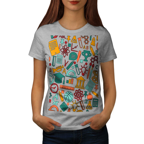 Geek World Reality Womens T-Shirt