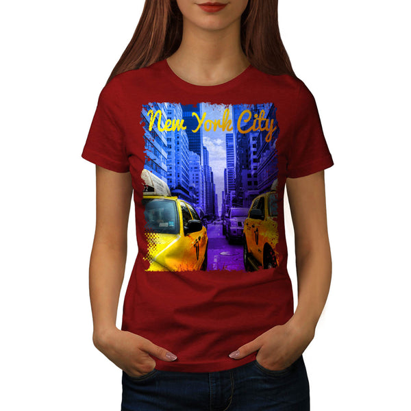 New York City Street Womens T-Shirt