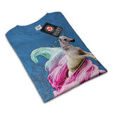 Unicorn Ice Cream Fun Mens T-Shirt
