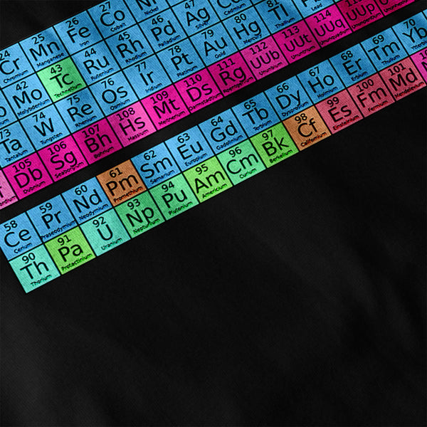 Periodic Table Print Womens T-Shirt