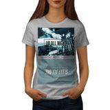 Up All Night Party DJ Womens T-Shirt