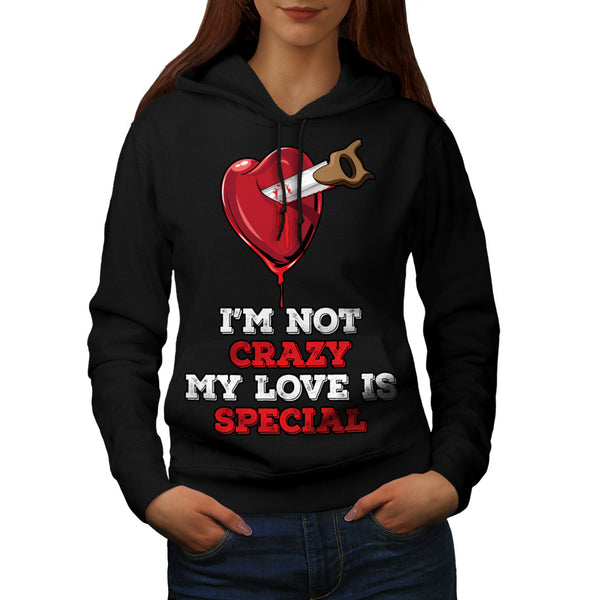 Special Love Sign Womens Hoodie