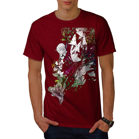 Happy Nature Tale Mens T-Shirt