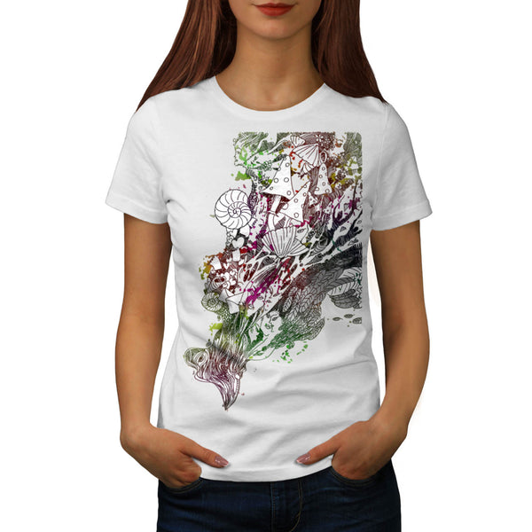Happy Nature Tale Womens T-Shirt