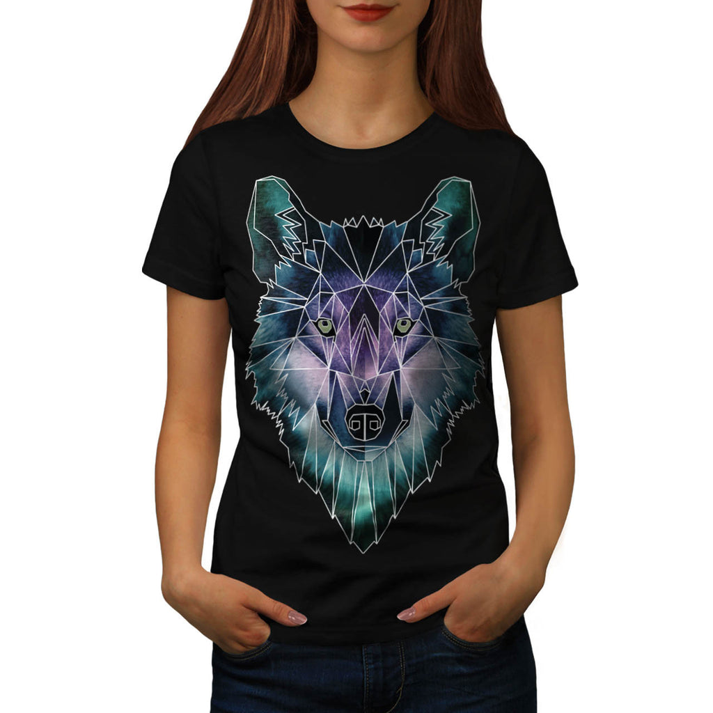 Wild Wolf Face Pack Womens T-Shirt
